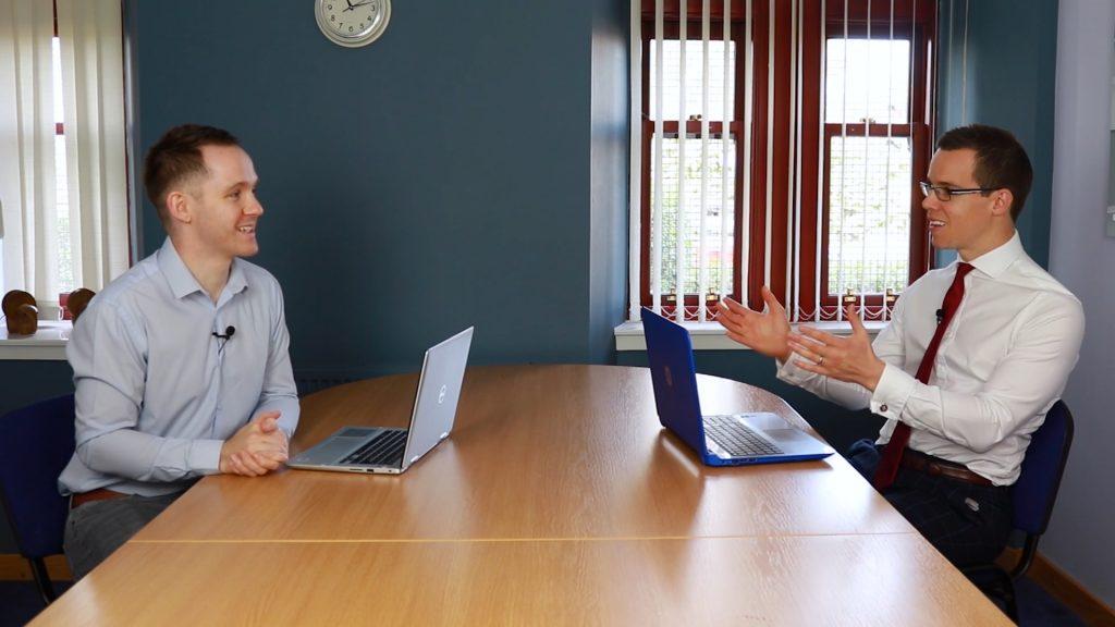 Virtual Job Interview training, andrew mcfarlan, pink elephant