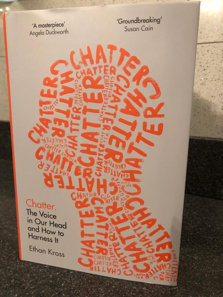 chatter book, mike kross, Turn your inner critic into your inner coach