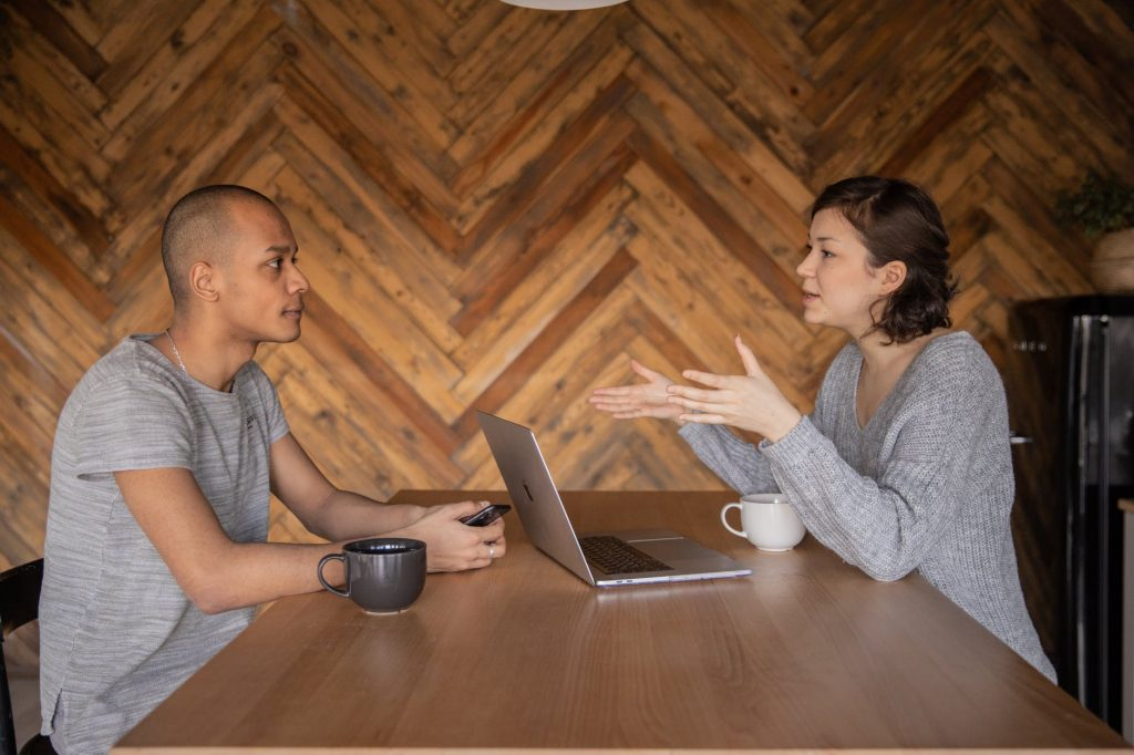 how to hold difficult conversations online, pink elephant, identify common ground