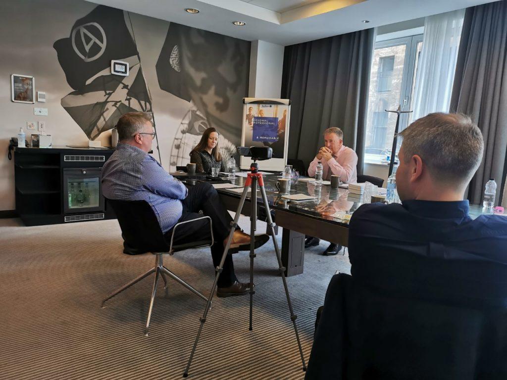 media training edinburgh, pink elephant, virtual or face to face