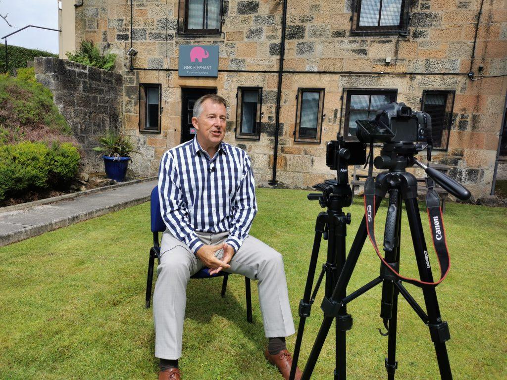edinburgh media training, pink elephant, the advice we share