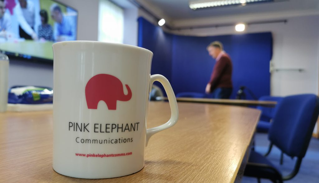 PowerPoint presentation tips, pink elephant communications, use images