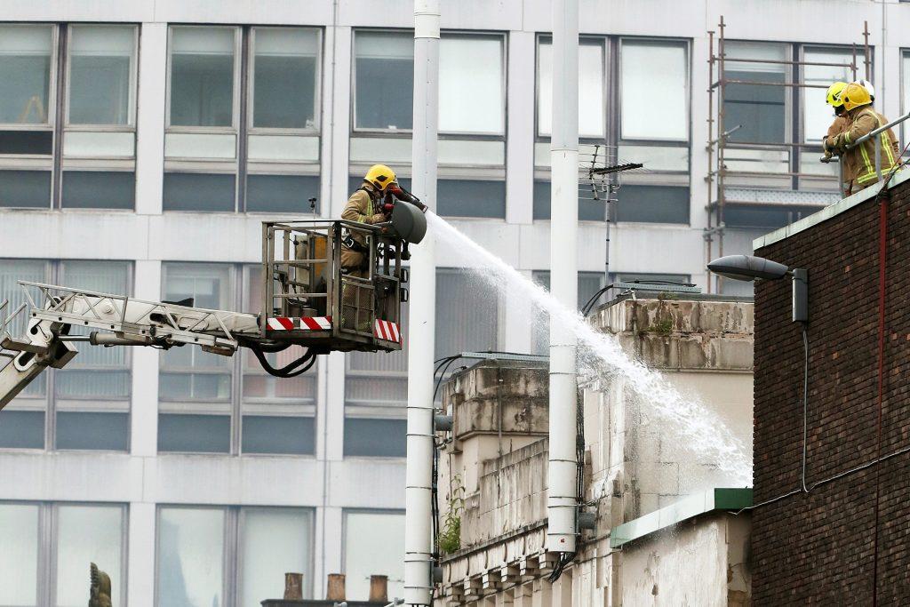crisis media training scotland, pink elephant, 2018 art school fire