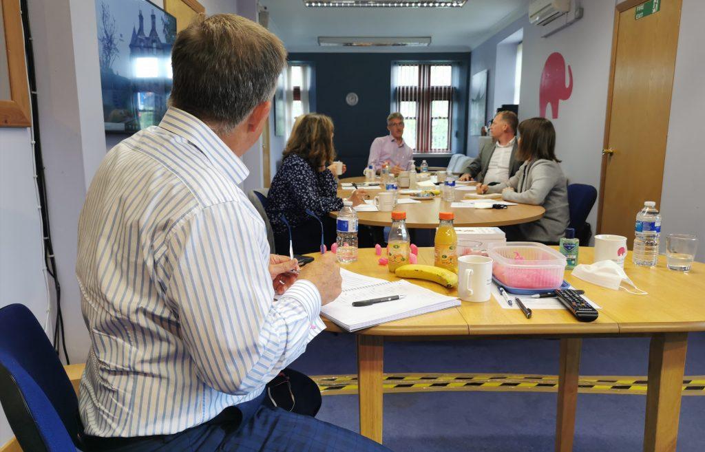 media training in scotland, book, pink elephant