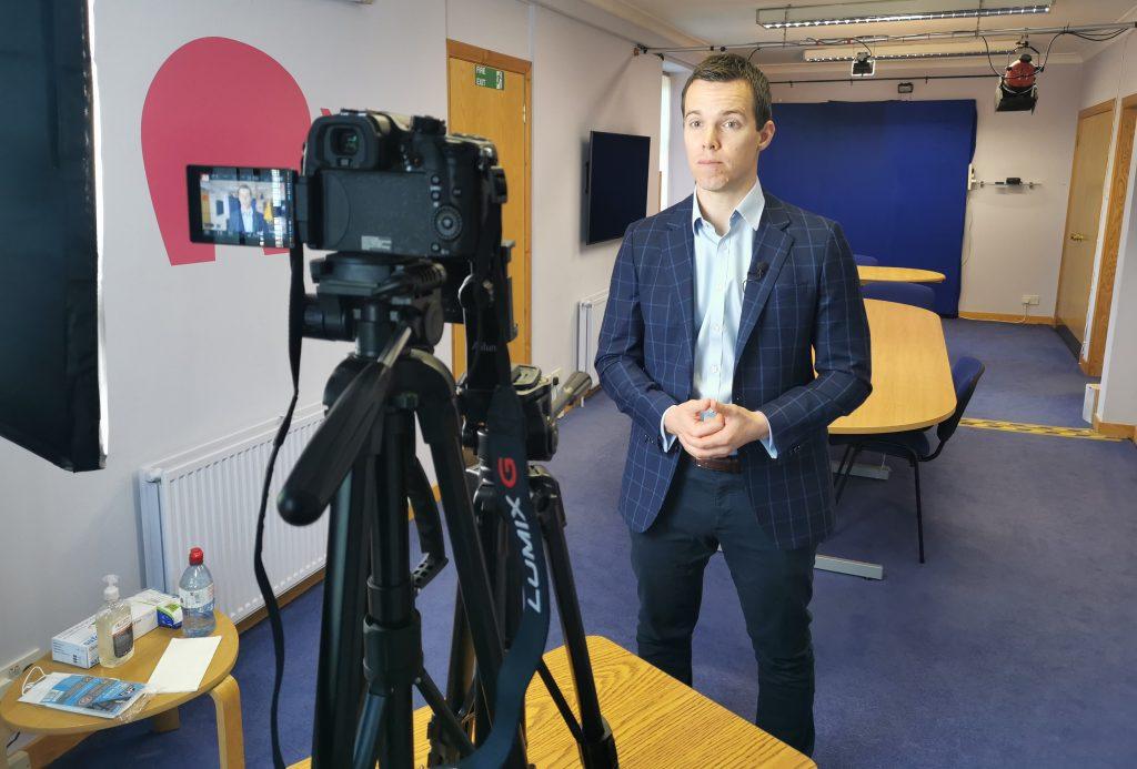 pink elephant, media training in scotland