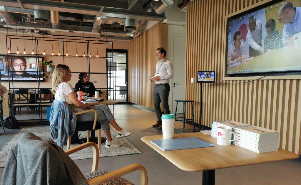 virtual presentation training, pink elephant, opening line