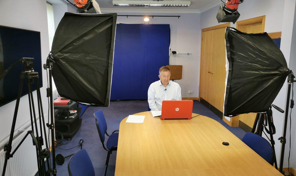media training online scotland, pink elephant