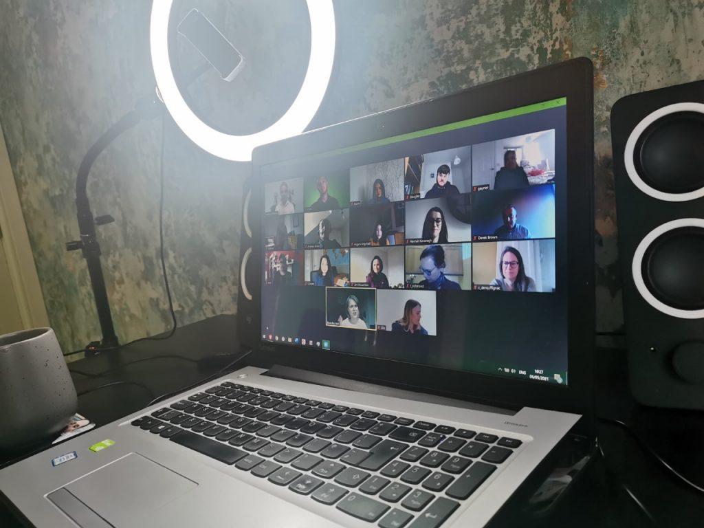 media training online course, virtual